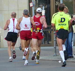 skrējiens, Jogger, palaist, sacensības, Sports, kājām, pēda