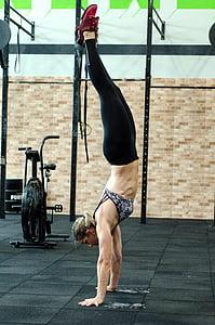действия, Активные, деятельность, Взрослый, спортсмен, баланс, тело