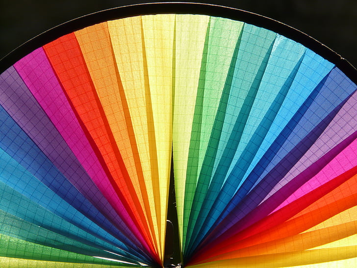 pinwheel, wind, colorful, color, district, about, movement