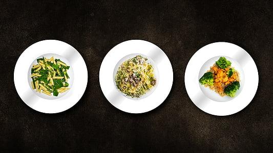 menjar, placa, cuinar, aliments, cuina, imatge de cuina, fons
