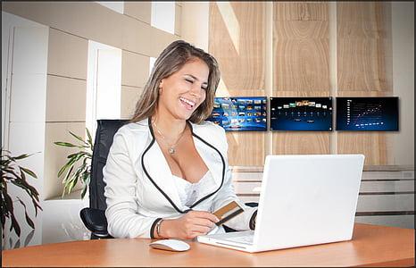 biznesa sieviešu, glīts, sievietes, sieviete, sievišķību, skaistumu, draudzīgs