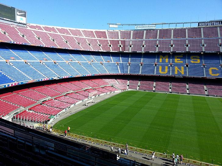 Estadi de futbol, Barcelona, f.c. Barcelona, esport, Estadi, futbol