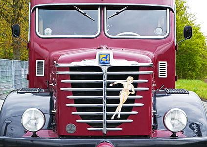 Büssing, camió, 1956, Oldtimer, restaurat, operativa, aprovat