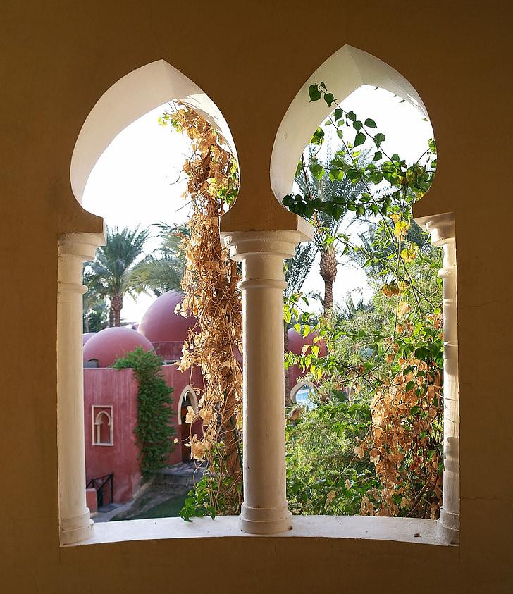akna, Orient, Palace, idamaine, päike akna, Holiday