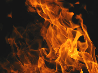 foc, foguera, flames, incendi, ardent, combustió, perillós