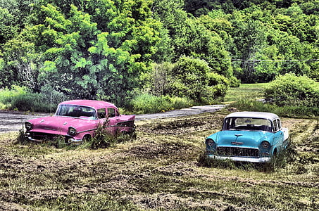 chevy, cars, retro, old, vehicle, automobile, auto