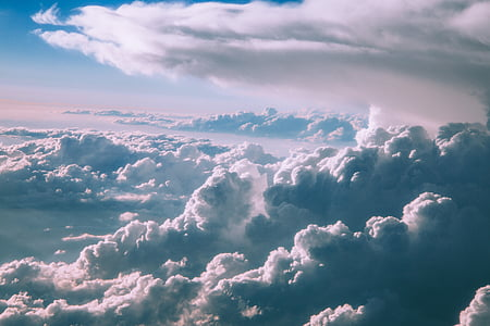 Ilmastointi, ilmapiiri, pilvisyys, pilvet, Päivänvalo, valo, ulkona