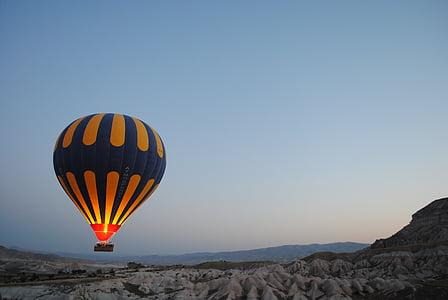 luftballong, Ballongflygning, ballong, luft, heta, Sky, färgglada
