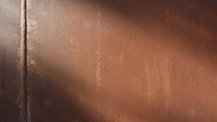 òxid, textura, metall, fons, vell, patró, marró