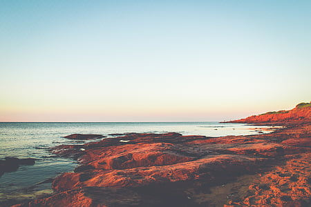 natura, oceà, a l'exterior, rocoses, escèniques, Mar, marí