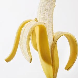 banana, jesti, voće, hrana, zdrav, slatki, vitamini