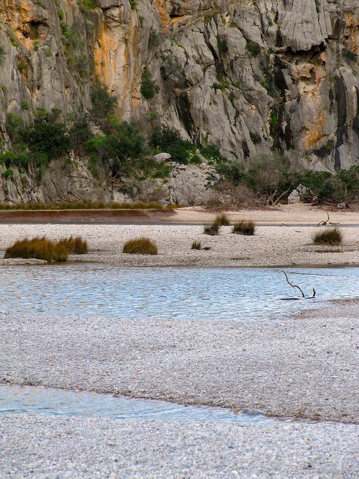 torrent pareis, Mallorca, voda, Rock, rezervace, Středomořská, tyrkysová