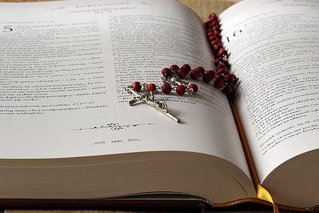 Rosari, Bíblia, les escriptures, Creu, pregària, pregar, fe