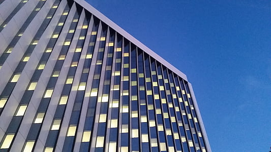 kontorid, hoone, pilvelõhkuja, City, arhitektuur, büroohoone, ehitatud struktuur