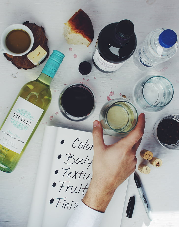 вино, дегустация на вино, дегустация бележки, стъкло, алкохол, дегустация, винарска изба