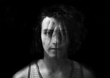 Foto Gratis Hitam Putih Tertekan Depresi Kesepian Laki Laki Orang Sedih Hippopx