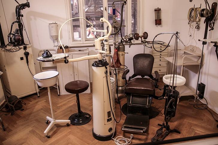 metge, dentista, tractament dental, sala de tractament