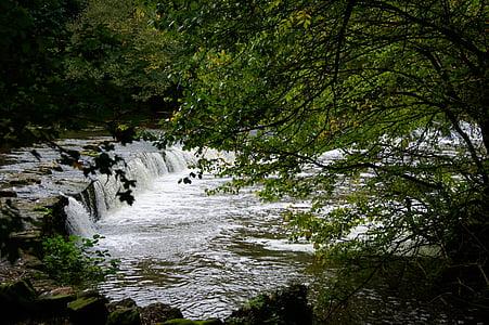voda, řeka, Dam, Příroda, Kaskáda, vodních toků, krajina