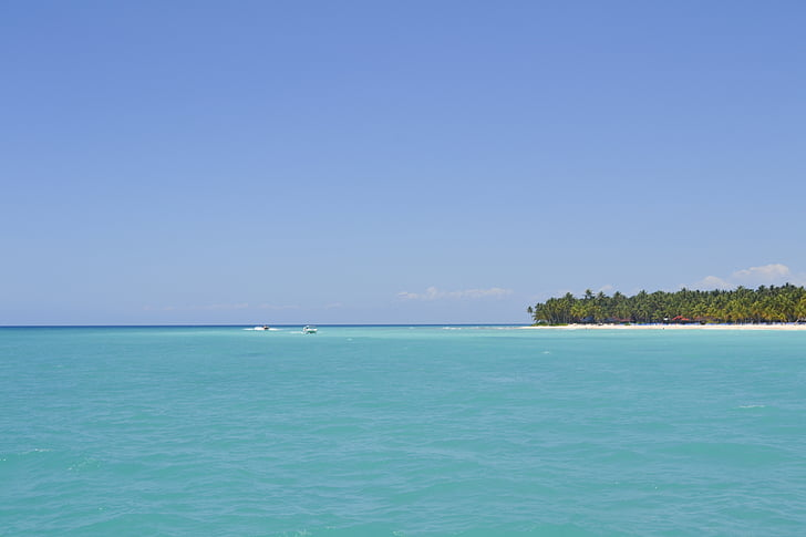 illa, Saona, l'illa Saona, República Dominicana, Mar dominicà, Mar, mar blau