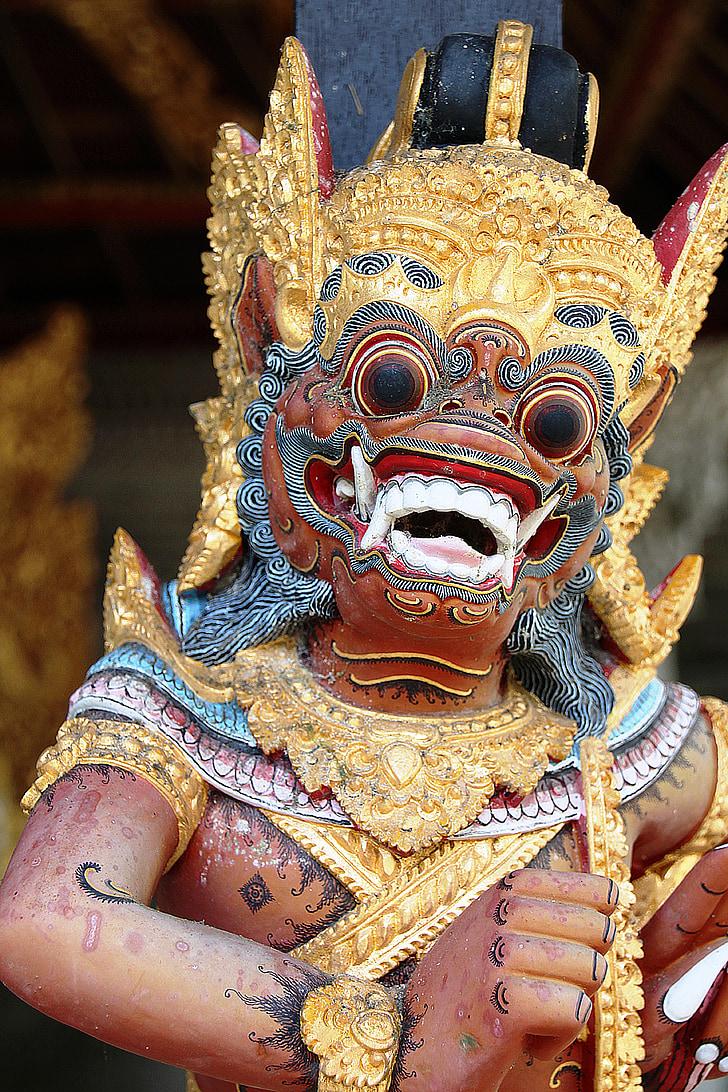 Bali, obrazów, kultury, Ceremonia, Indonezyjski, obraz, kolory