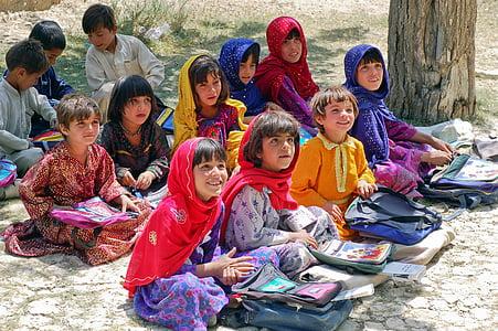 girl, schoolgirl, learn schulem, afghanistan, muslims, islam, children