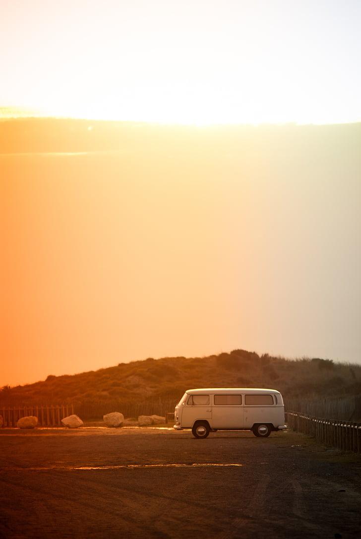 Volkswagen, xe buýt nhỏ, VW xe buýt, xe, Vintage, giao thông vận tải, Hoài niệm