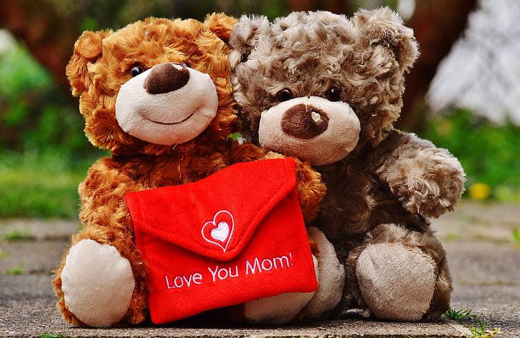 peluix, dia de la mare, l'amor, mare, targeta de felicitació, mare, Benvingut