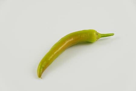 paprika, pepperonie, toidu, roheline, köögiviljad, Sharp, pikantne