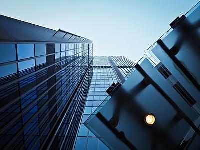 architecture, modern, building, facade, skyscraper, geometric, window
