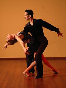 dancing, dance, ballroom, elegance, style, dancer, tangoing
