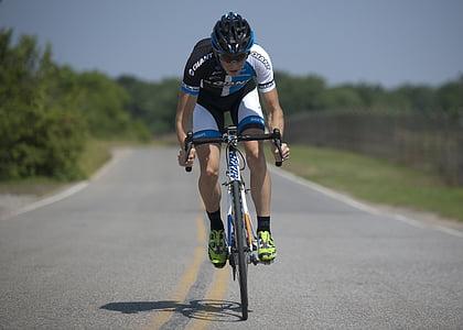 Ciclisme, bicicletes, equitació, esport, recreació, carretera, ciclista