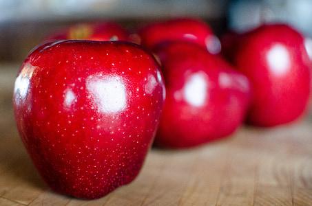 Apple, puu, õunad, orgaaniliste, punane, saagi, põllumajandus