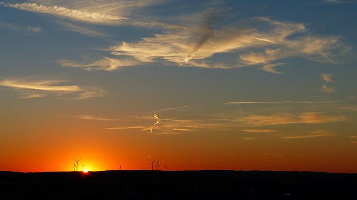 yenilenebilir enerji, windräder, gökyüzü, Rüzgar enerjisi, Rüzgar enerjisi, Rüzgar park, Rüzgar enerji santrali