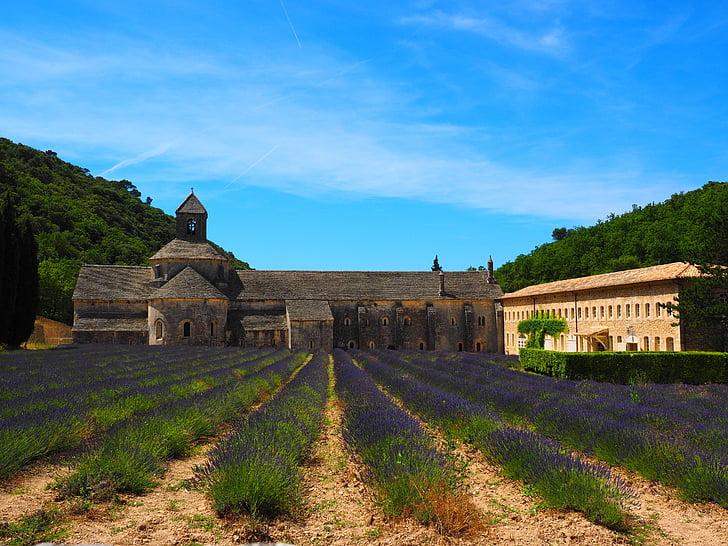 Abbaye de senanque, Monestir, l'Abadia de, Notre dame de sénanque, l'ordre del Cister, Gordes, Valclusa