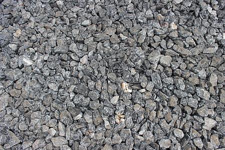 Rock, bakken, mønster, stein, naturlig, tekstur, materiale