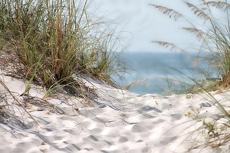 Playa, arena, arena, verano, Mar de verano, naturaleza, Costa