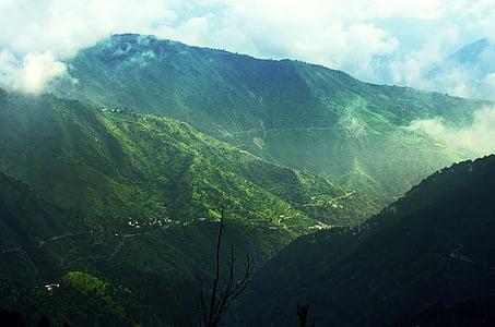viagens, colinas, montanha, cênica, natureza, Turismo, paisagem