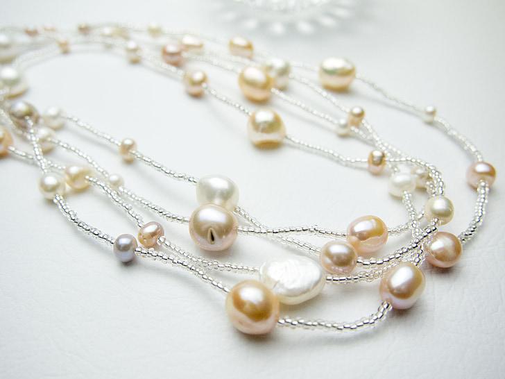 perles d'aigua dolça, Collaret, accessoris
