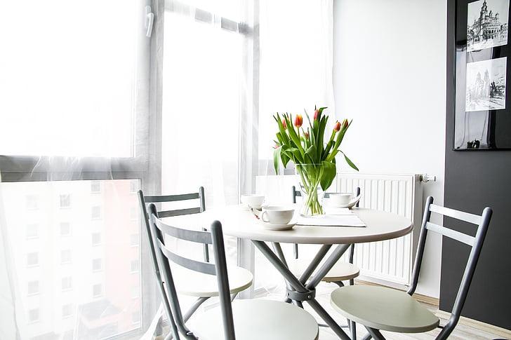 dzīvoklis, istabu, māja, dzīvojamo interjeru, interjera dizains, apdare, ērts dzīvoklis