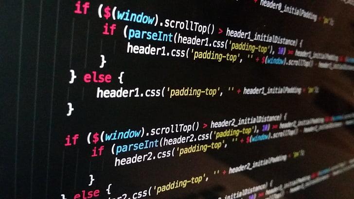 tecnologia, ordinador, negre, codi, comunicació, text, l'interior