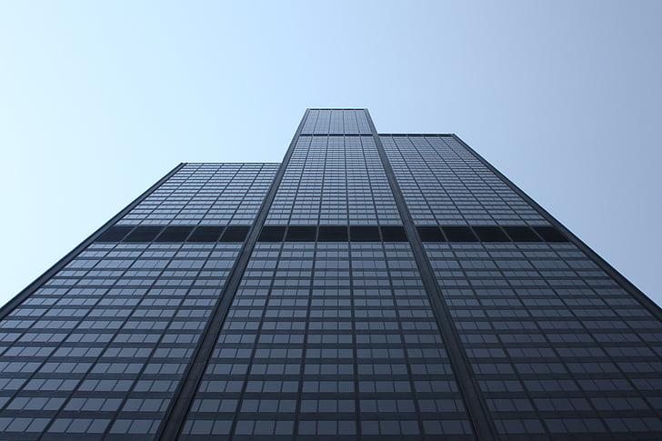 building, perspective, skyscraper, corporate, modern, architecture, exterior
