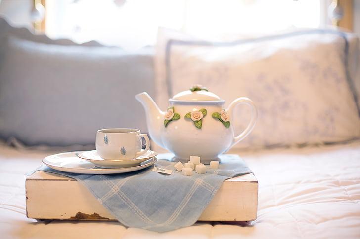 čaj, čajnik, čajnik, piće, kup, napitak, vruće