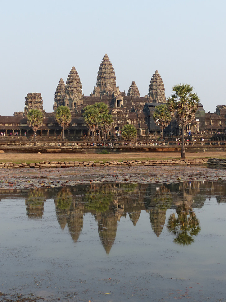 Kambodscha, Angkor wat, Tempel-Komplex
