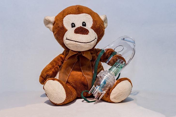 inhalació, màscara d'inhalació, aerosol, màscara d'aerosols, màscara respiratòria, nebulitzador, inhalació