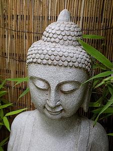 Buddha, Zen, Buddhismus, Kamenná postava, duchovní, meditace, náboženství