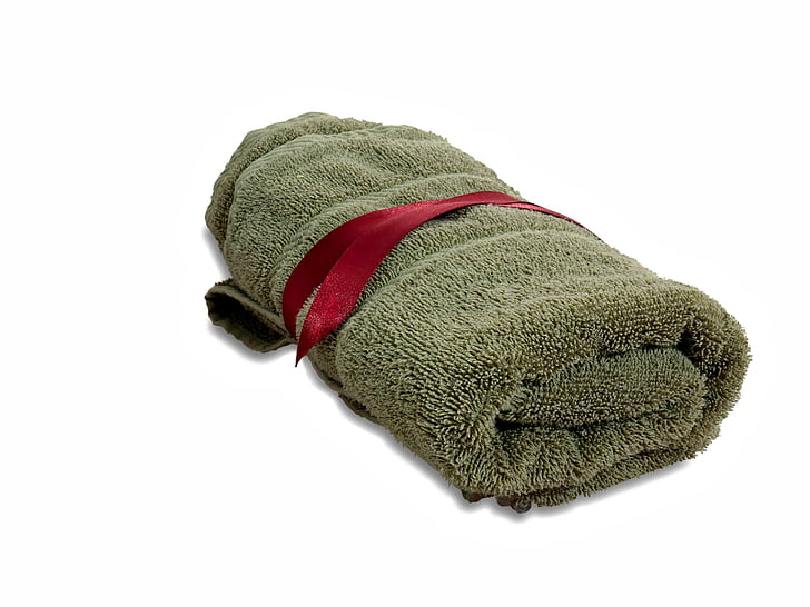 Handtuch, Wellness, Massage, Entspannung, Kleidung, Textile, einzelnes Objekt