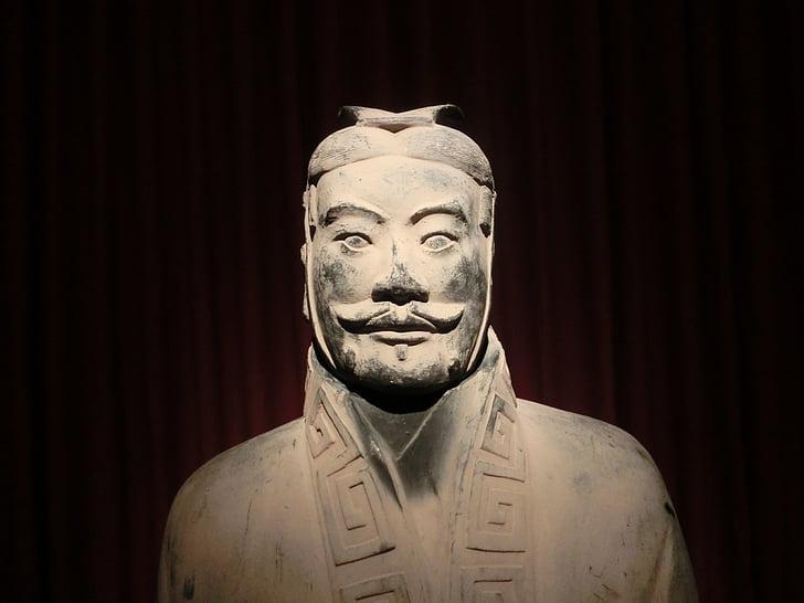 Xian, sõdalased, vana, Statue, muuseum, Hiina