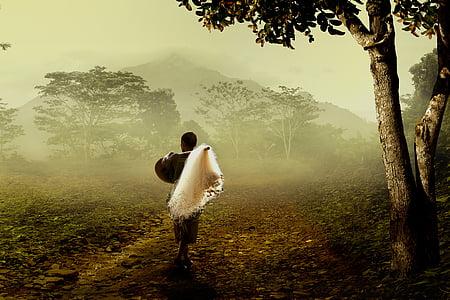 home, pescadors, natura, poble, dones, persones, l'amor
