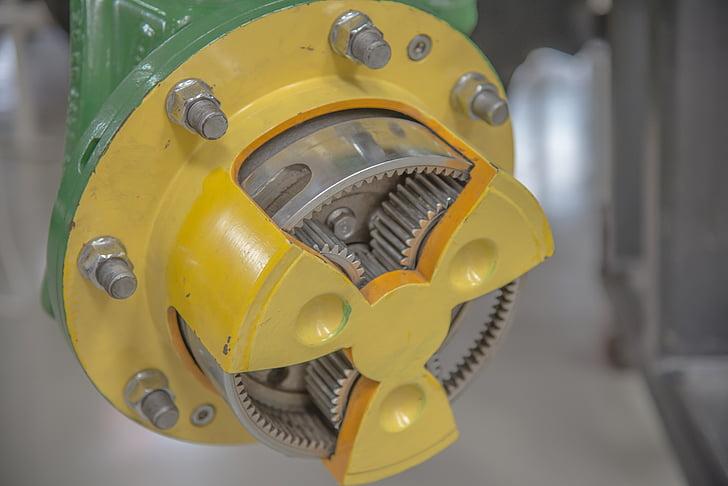 transmission, en voiture, Gear, Metal, en acier inoxydable, connexion, tour