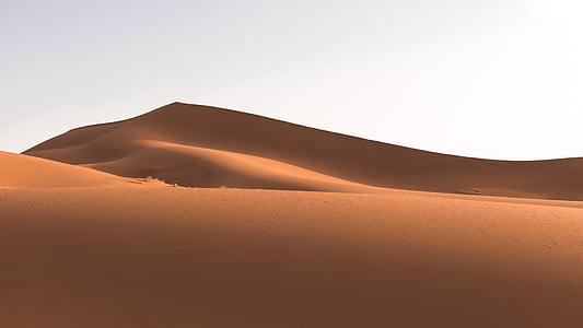 desert de, Dune, paisatge, sorra, dunes de sorra